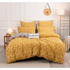 Комплект постельного белья Сатин Вышивка CN146, Евро, наволочки 4 шт