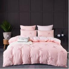 Комплект постельного белья Сатин Элитный CPL015, Евро, наволочки 4 шт